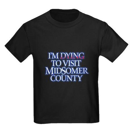 Dying to Visit Kids Dark T-Shirt