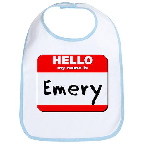 Hello my name is Emery Bib