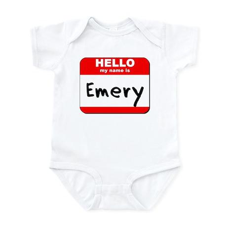 Hello my name is Emery Infant Bodysuit