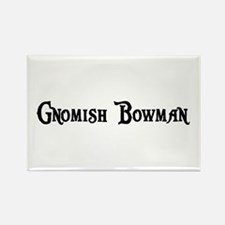 Gnomish Bowman Rectangle Magnet