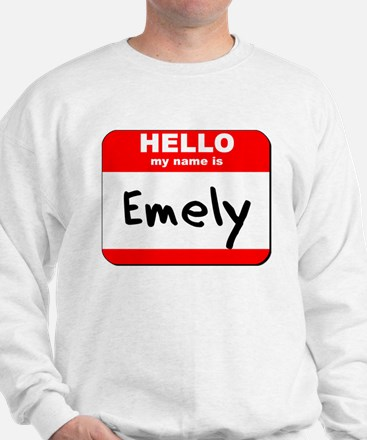 Hello my name is Emely Sweater