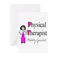Physical Therapy Greeting Cards (Pk of 20)