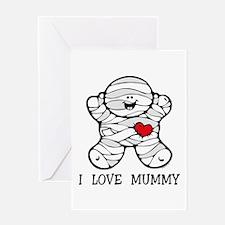 I Love Mummy Greeting Card