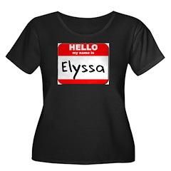 Hello my name is Elyssa T
