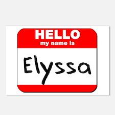 Hello my name is Elyssa Postcards (Package of 8)