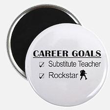 Substitute Teacher Career Goals - Rockstar Magnet