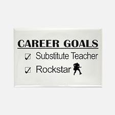 Substitute Teacher Career Goals - Rockstar Rectang