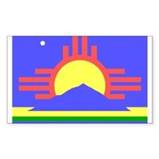 Roswell Rectangle Decal