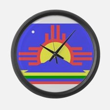 Roswell Large Wall Clock