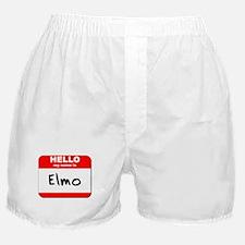 Hello my name is Elmo Boxer Shorts