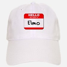Hello my name is Elmo Baseball Baseball Cap