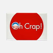 Oh Crap! Obama Rectangle Magnet