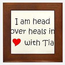 Name tia Framed Tile