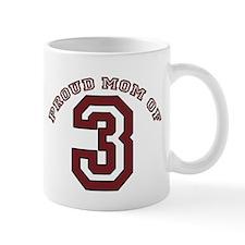 Proud Mom of 3 Mug