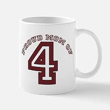 Proud Mom of 4 Mug