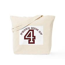 Proud Mom of 4 Tote Bag