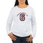 Proud Mom of 6 Women's Long Sleeve T-Shirt