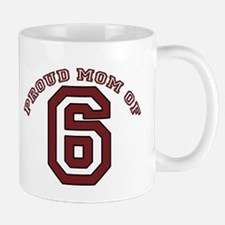 Proud Mom of 6 Mug