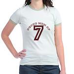 Proud Mom of 7 Jr. Ringer T-Shirt