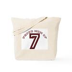 Proud Mom of 7 Tote Bag