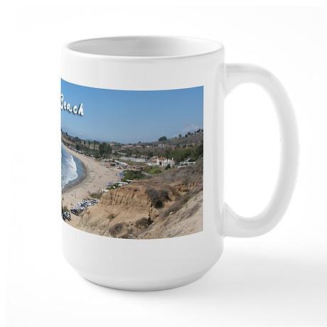 San Onofre State Beach Large Mug