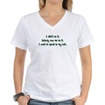 Want to Speak to Lolo Women's V-Neck T-Shirt