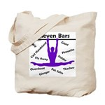 Gymnastics Tote Bag - Bars