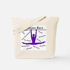Gymnastics Tote Bag - Bars