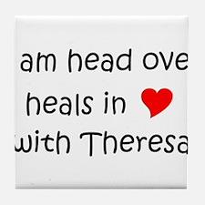 Funny Theresa Tile Coaster