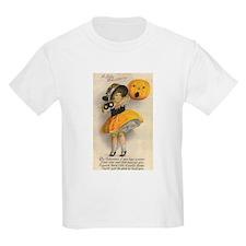 Girl With Pumpkin T-Shirt