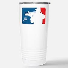 Major League type Infidel Travel Mug