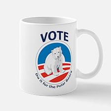 Vote - Do it For Polar Bears Mug
