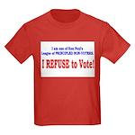 NO VOTE #3 Kids Dark T-Shirt