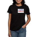NO VOTE #3 Women's Dark T-Shirt