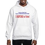 NO VOTE #3 Hooded Sweatshirt