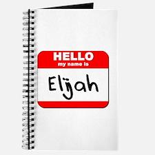 Hello my name is Elijah Journal