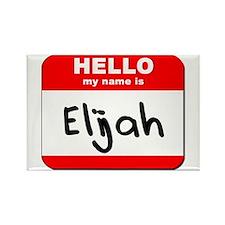 Hello my name is Elijah Rectangle Magnet