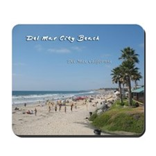 Del Mar City Beach Mousepad