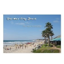 Del Mar City Beach Postcards (Package of 8)