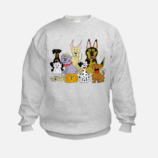 Cartoon Dog Pack Jumpers