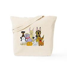 Cartoon Dog Pack Tote Bag