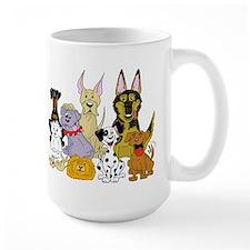 Cartoon Dog Pack Mug