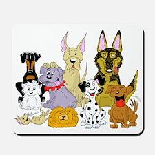 Cartoon Dog Pack Mousepad