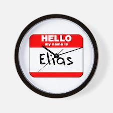 Hello my name is Elias Wall Clock