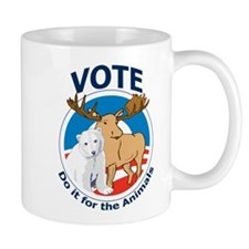 Vote - Do It for the Animals Mug