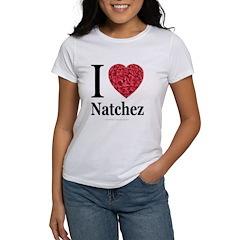 I Love Natchez Women's T-Shirt