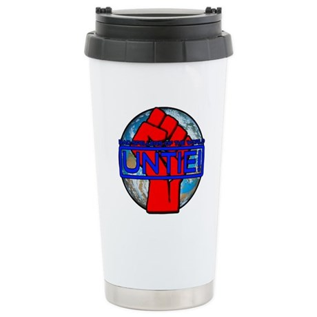 Bad Spellers Untie Stainless Steel Travel Mug