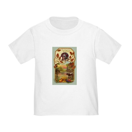 Thanksgiving Greetings Toddler Shirt
