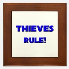 Thieves Rule! Framed Tile