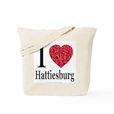 I Love Hattiesburg Tote Bag